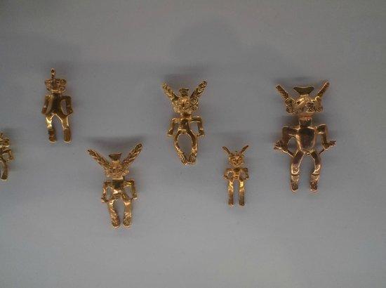Museo del Oro Precolombino : Pre-Colombian Gold Pieces 2