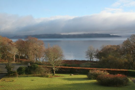 Duisdale House Hotel: View from bedroom window