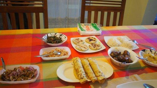 Colombo Haven Bed & Breakfast: great breakfast