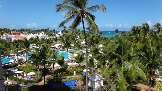 Hotel Riu Palace Punta Cana: vista do quarto 3044