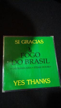 Photo of Fogo do Brasil taken with TripAdvisor City Guides