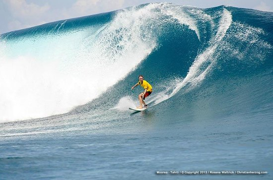 Moorea Surf Bed and Breakfast: Surfing Haapiti