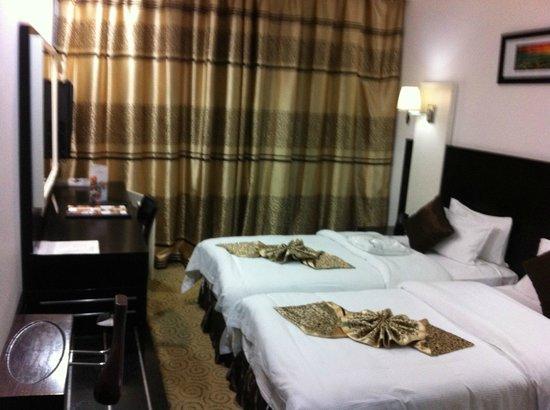 Haroon Hotel: My hotelroom