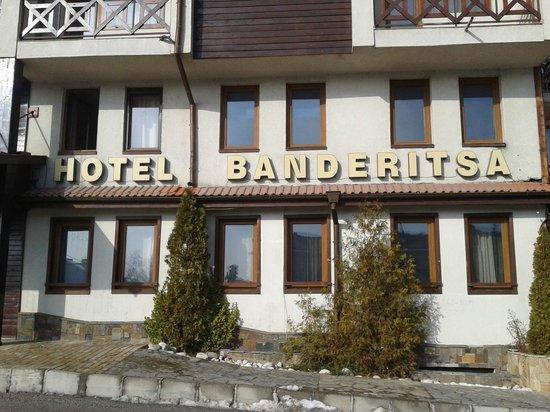 Hotel Banderitsa: Front