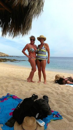 Suze and Kathy , Chileno Beach