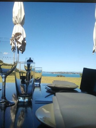 Cable Bay Vineyards Winery and Restaurant: Gorgeous day