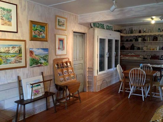 Wildyrie Lodge : Art Gallery in Historic Lodge