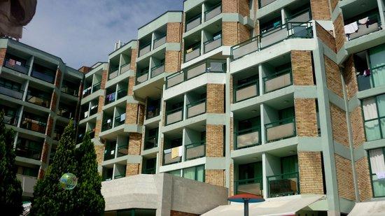 Hotel Aktinia: Balkony pokojowe
