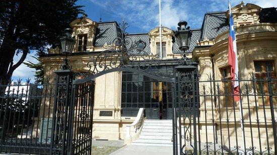 Centro Cultural Braun-Menendez: Eingang zur Villa Braun