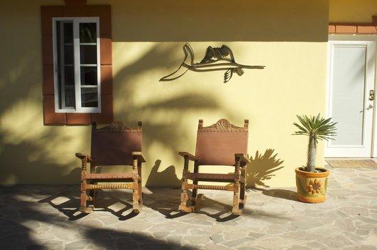El Tiburon Casitas: just outside one of the casitas