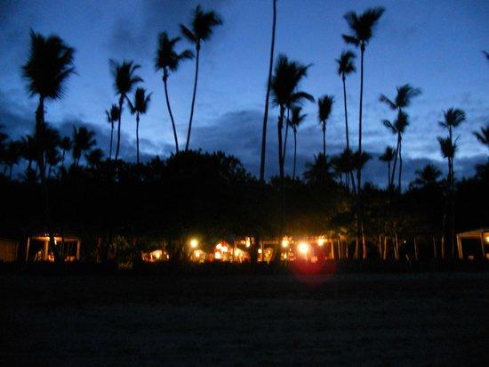 Anima Hotel : anochecer desde la playa