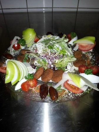 Restaurant S'Kastele : salade chevre