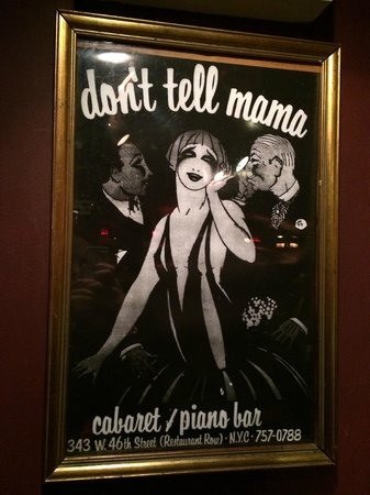 Don't Tell Mama : Dont tell mama