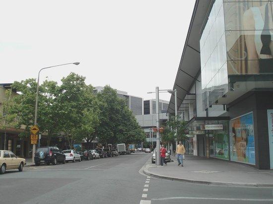 Canberra Centre: A caminho do Shopping Center.