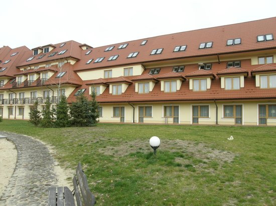 Ossa Congress & Spa Hotel: Widok na hotel