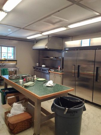 Allegany State Park Campground: commercial kitchen for food prep