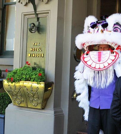 The Hotel Windsor: The doorman on Chinese New year