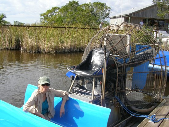 Capt Mitch's - Everglades Private Airboat Tours: Airboat