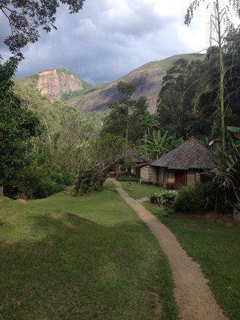 Pousada Tankamana : Chalés próximos à piscina natural