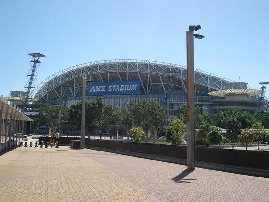 ANZ Stadium: Estádio ANZ.