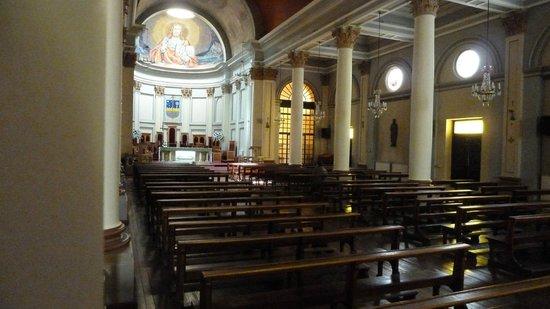 Catedral Sagrado Corazon: Fresken eines katalanischen Künstlers