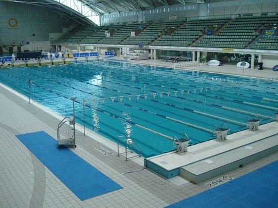 ANZ Stadium: Piscina no complexo aquático olímpico.