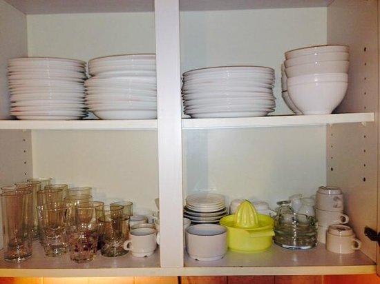 Residence L'Altineige: Plates etc