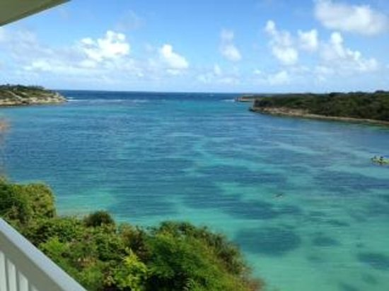 Saint Philip, Antigua: View from our balcony.