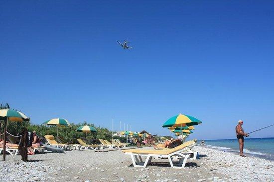 Filerimos Village Hotel: Beach