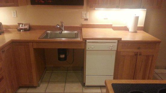 Bell Rock Inn: The odd kitchen counter