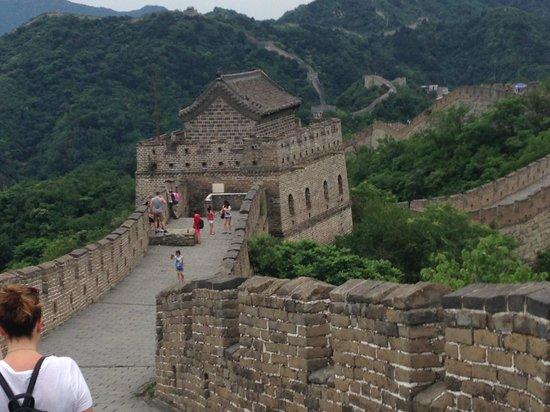 Gran Muralla China en Mutianyu: Defense Tower on Great Wall