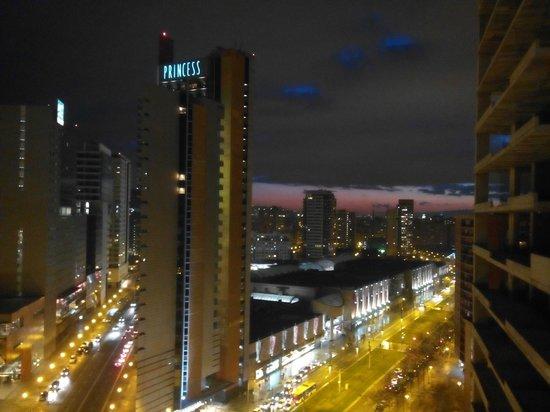 Hotel SB Diagonal Zero Barcelona: vista desde el mirador de la planta 15.