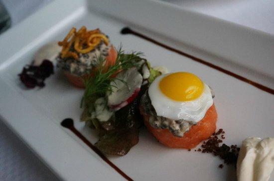 Fischereihafen-Restaurant: Scottish Salmon Tartar