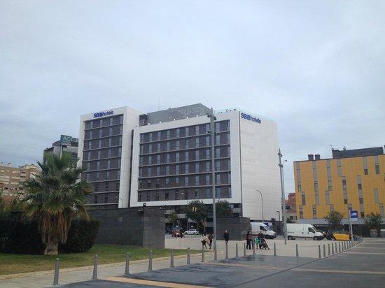 Hotel SB Plaza Europa: Das Hotel von draussen