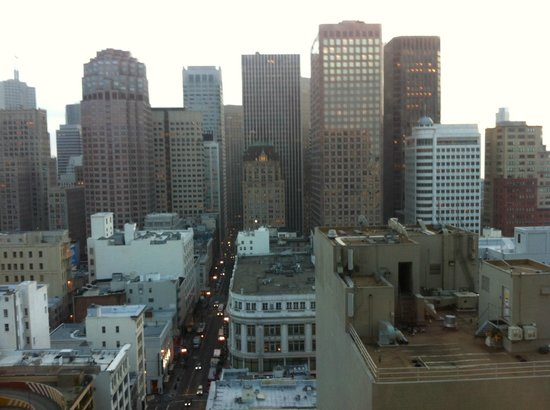 Grand Hyatt San Francisco : View from room