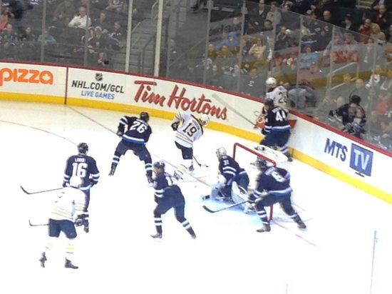 MTS Centre : Winnipeg Jets Game