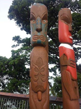 Absolute Tours - Day Tour: Estatuas maoríes en Auckland