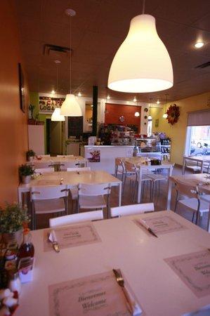 Marieville, Canadá: chaleureux et super bon déjeuner