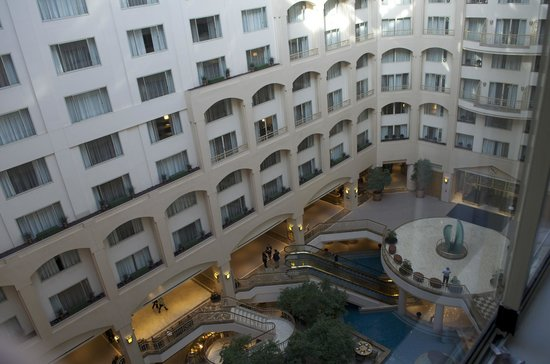 atrium view 7th floor picture of grand hyatt. Black Bedroom Furniture Sets. Home Design Ideas