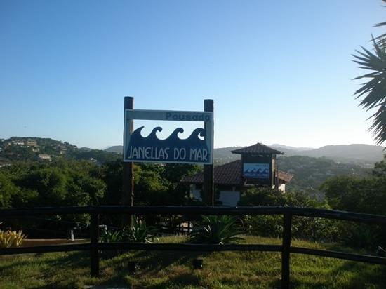 Pousada Janellas do Mar : entrada a Janellas
