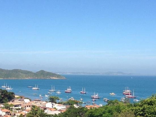Pousada Janellas do Mar : Vista desde nuestro cuarto nro 4