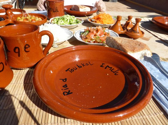 Toubkal Guide Day Tours: Riad Lunch