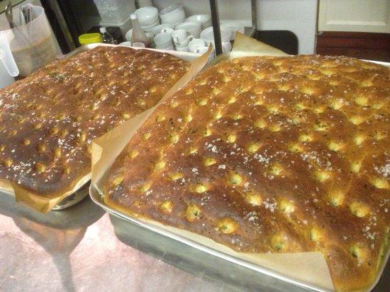 Blue Ball Restaurant : Fresh home made bread