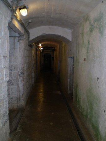 Forte Belvedere: Uno dei corridoi