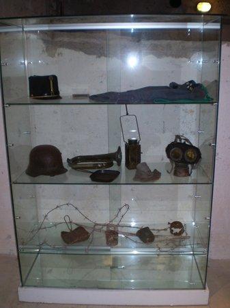 Forte Belvedere: Alcuni oggetti in esposizione