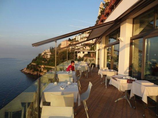 Miramalfi Hotel: Restaurante do café da manhã.