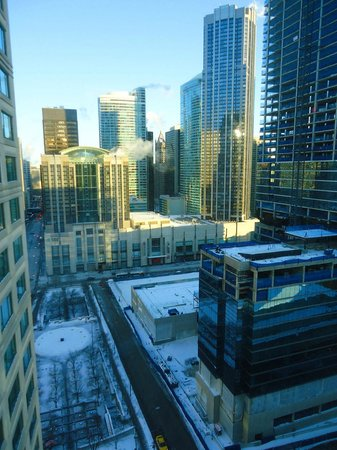 Sheraton Grand Chicago: View from my room (26th floor).