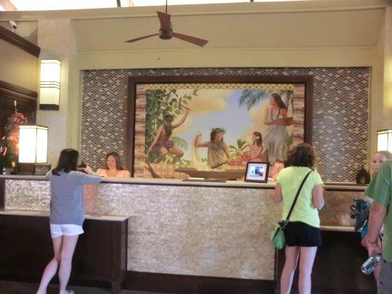 Sheraton Kauai Resort: front desk