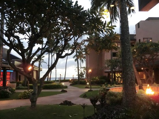 Sheraton Kauai Resort: grounds