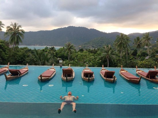 Santhiya Koh Phangan Resort & Spa: The view from ours room. It was amazing !!!!